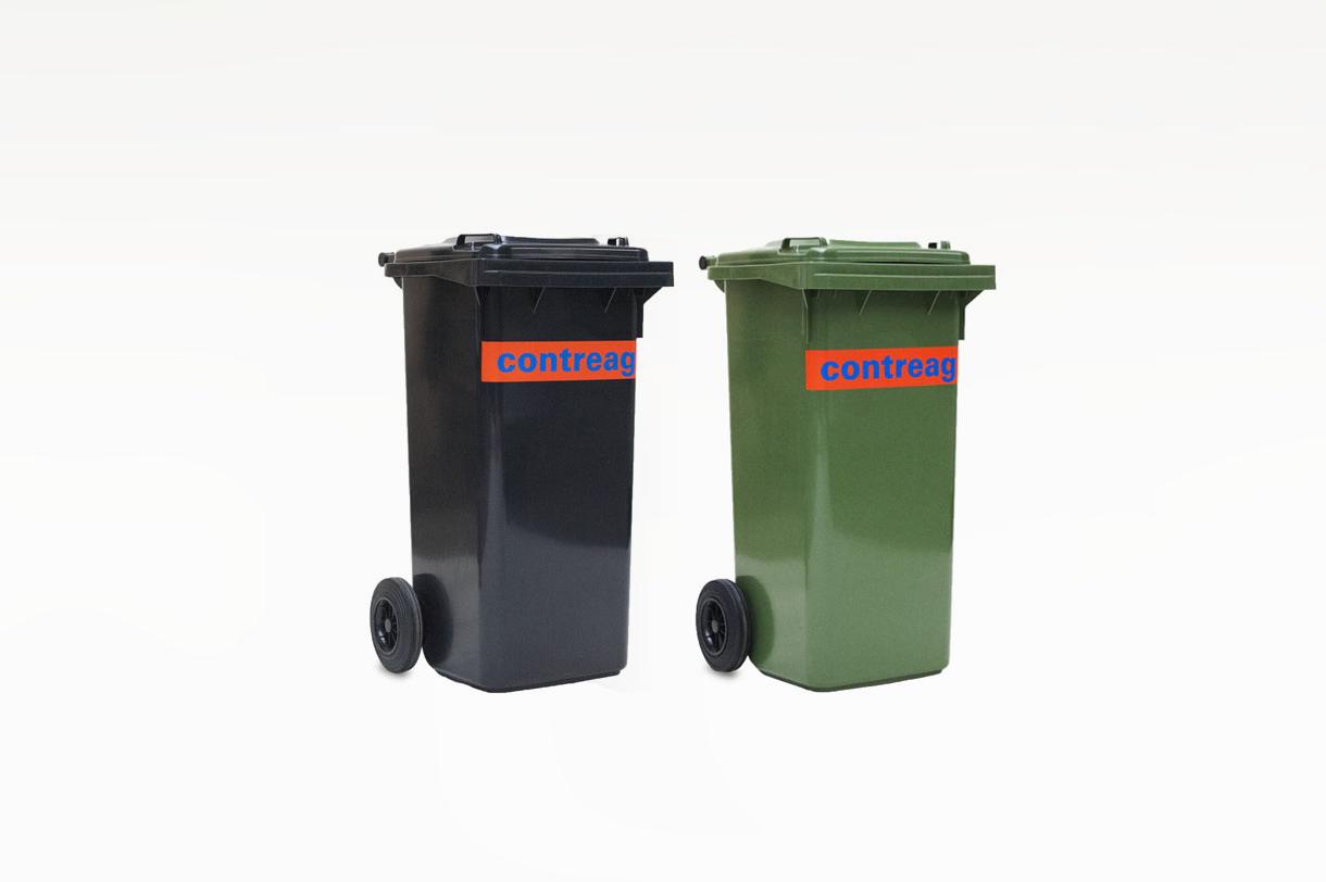 Container 120lt en plastique