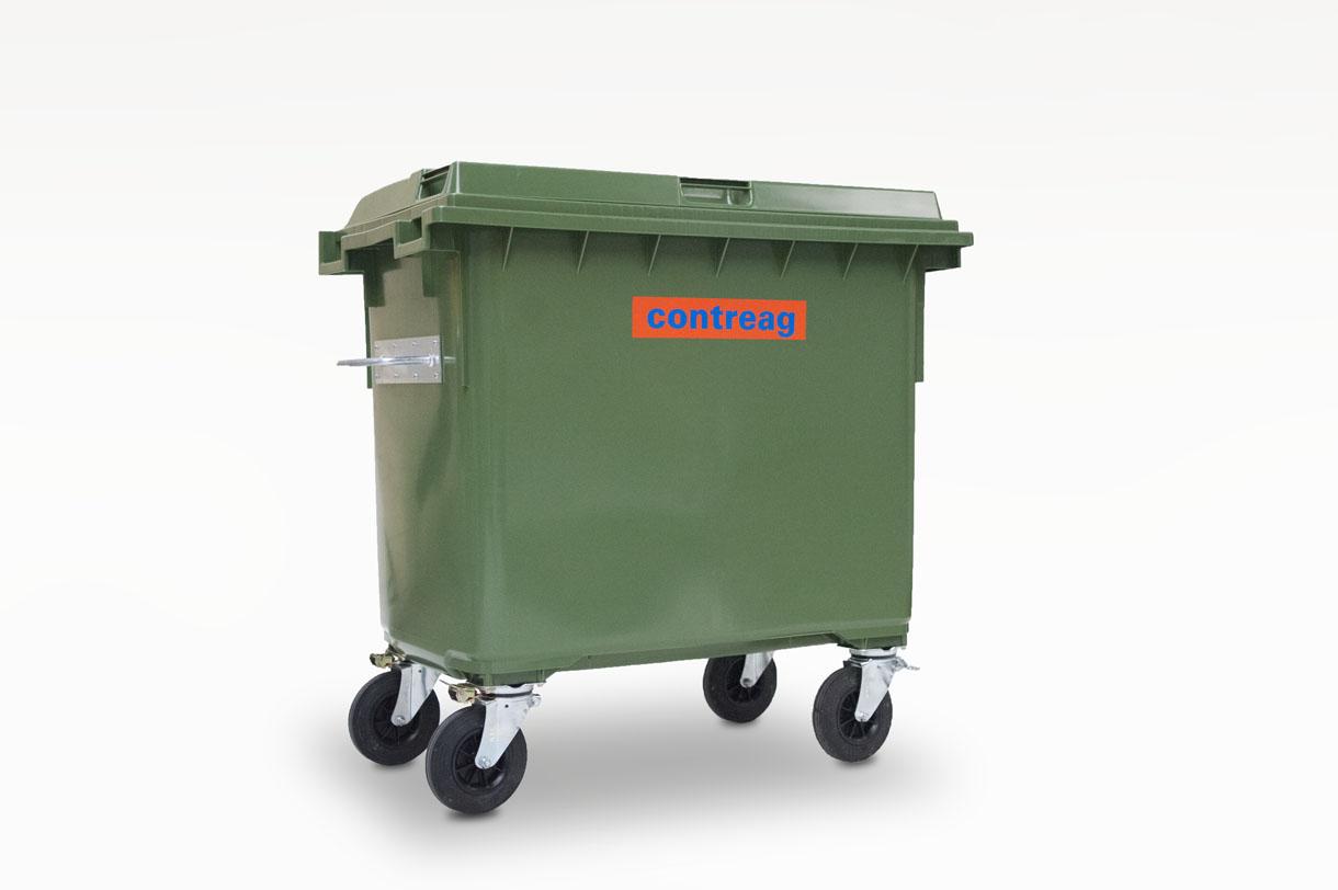 Container 660lt en plastique