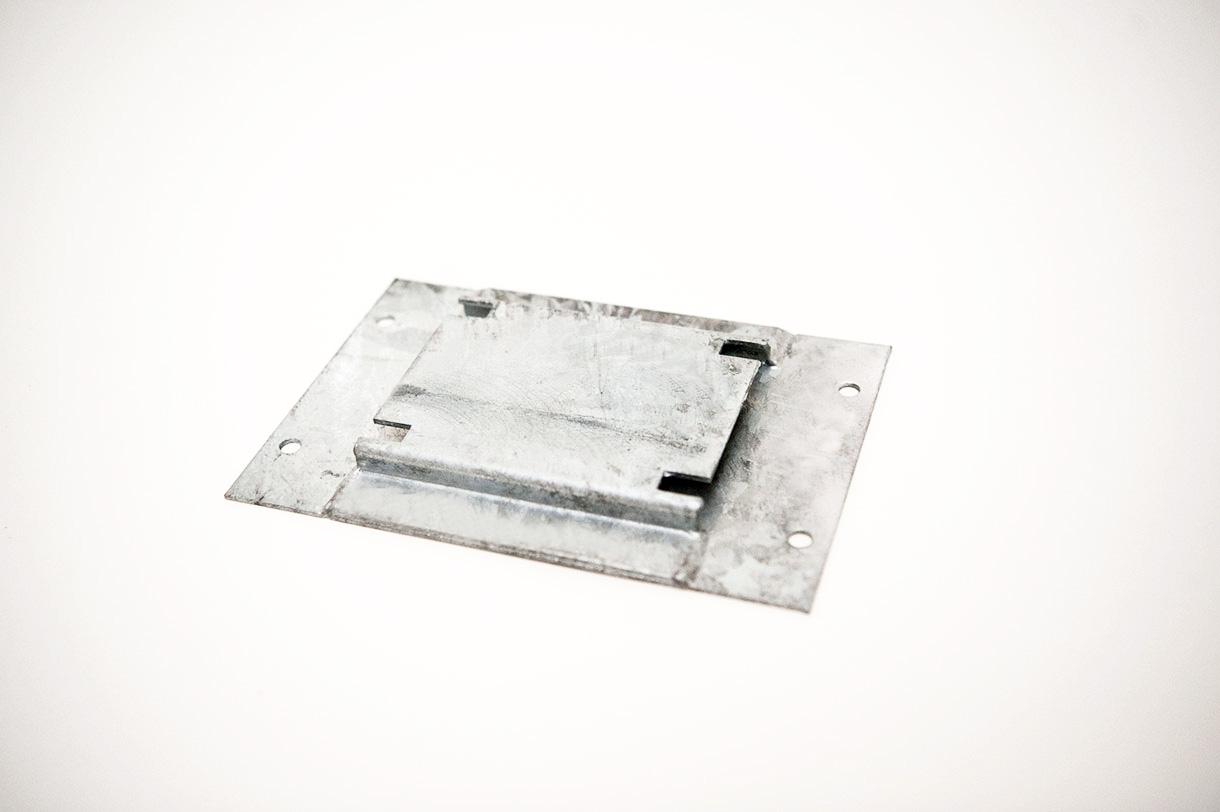Radsockel Grundplatte (1 Paar)