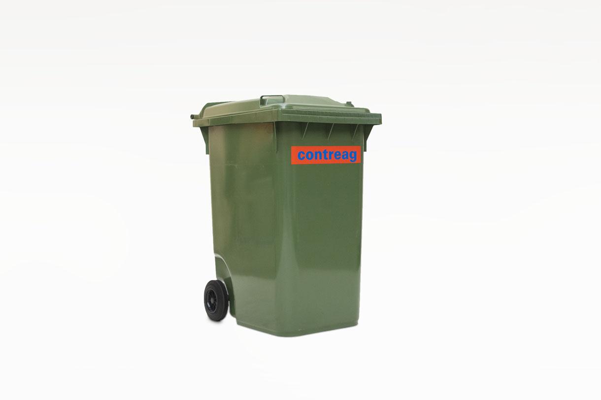 Container 360lt en plastique