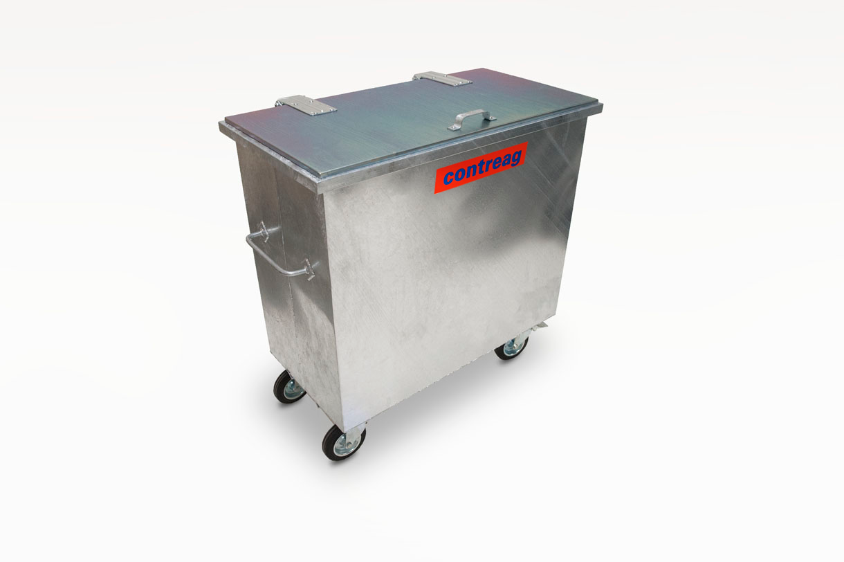 Stahlcontainer 600lt
