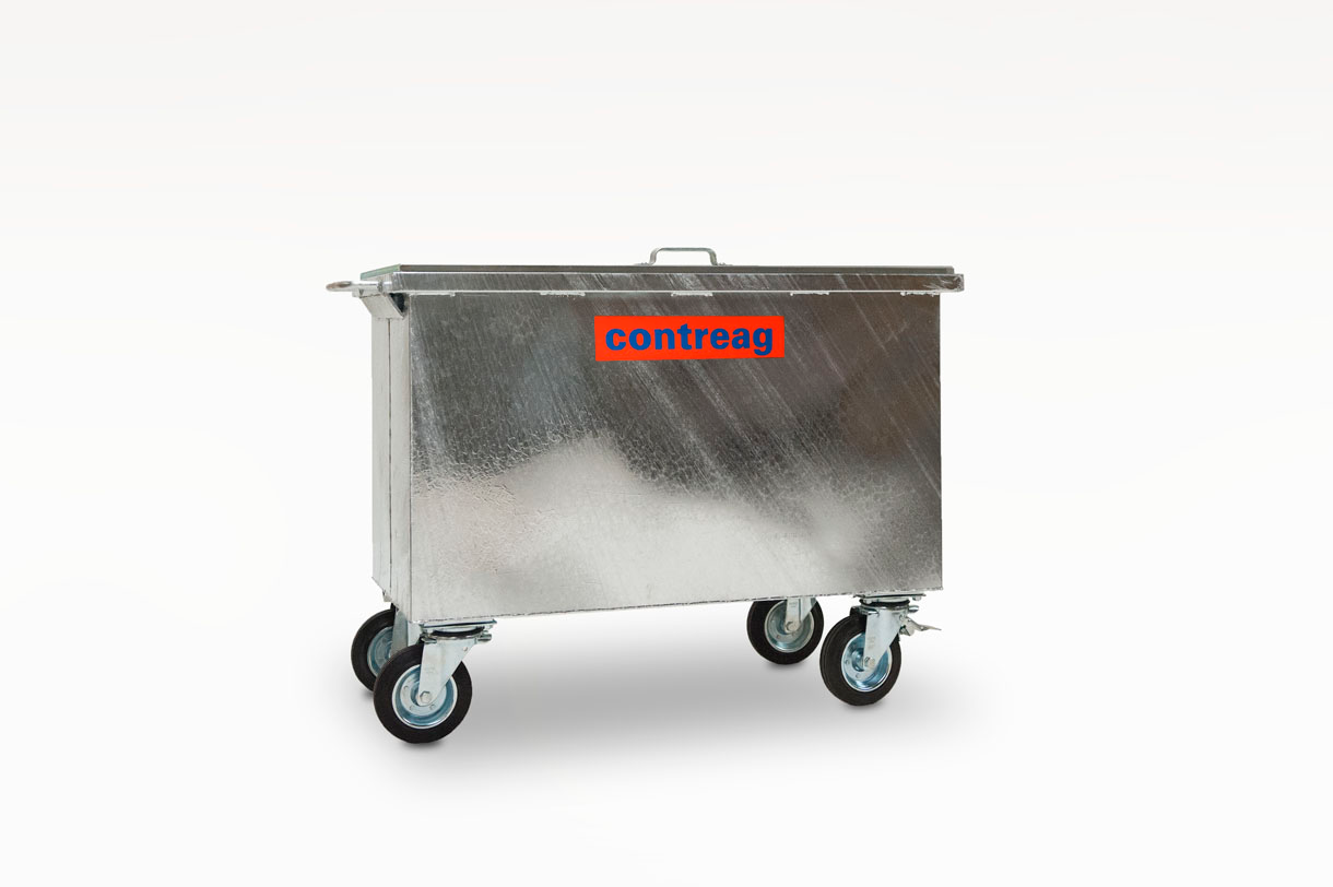 Stahlcontainer 400lt