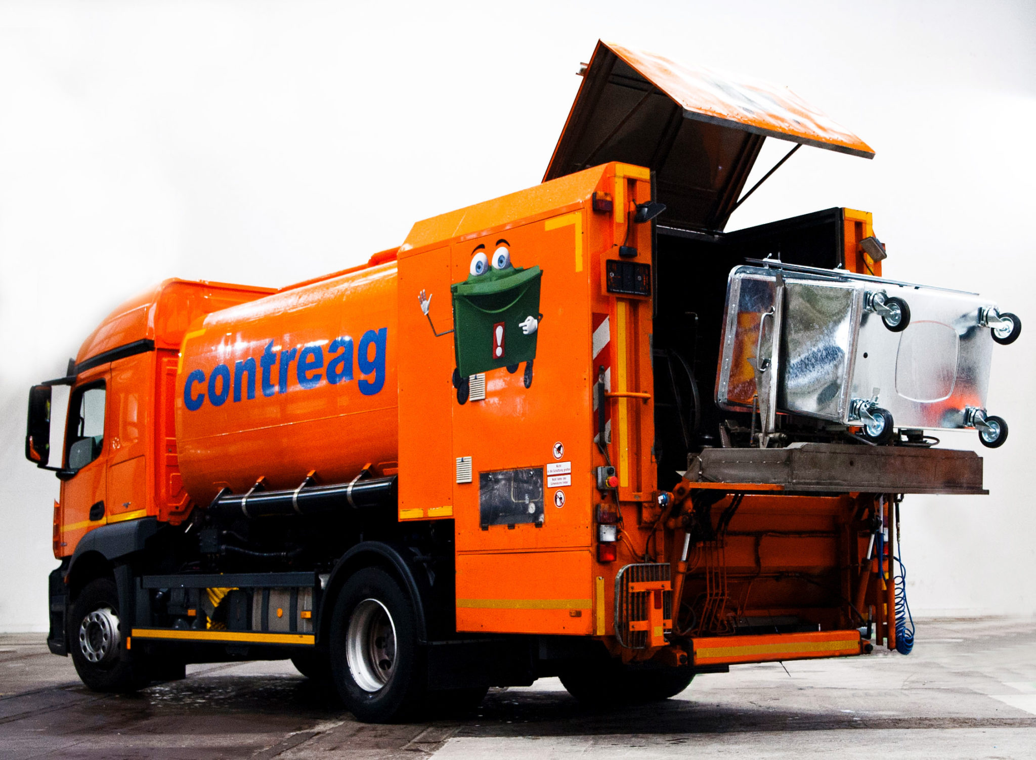 Contreag Container-Reinigung Reinigungsfahrzeug Mercedes 18t