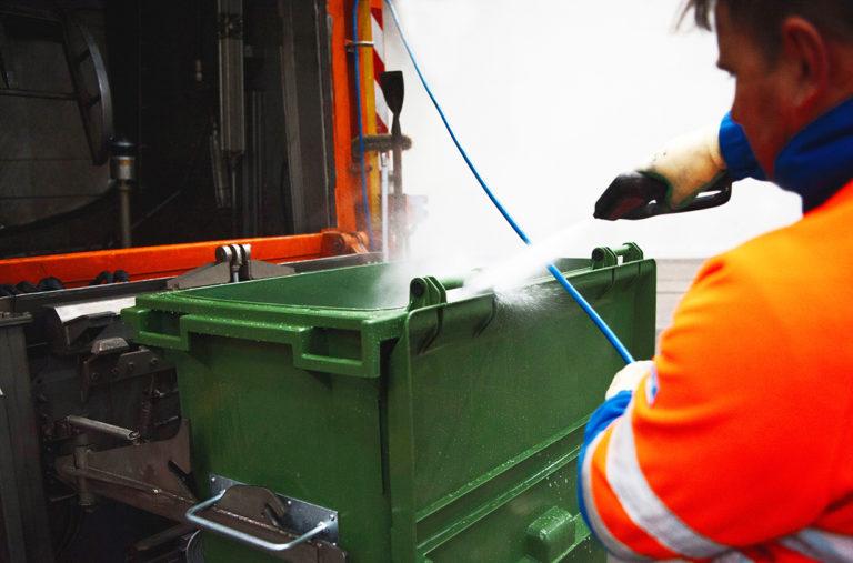 Container-Reinigung 2-Räder (Einmaliger Auftrag)